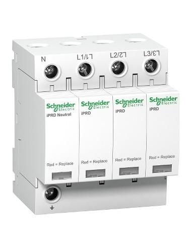 A9L65601 - Acti9, iPRD 65r parafoudre 3PN, 65kA 350V, avec report signalisation - Schneider