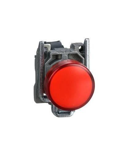 XB4BA42 - Harmony XB4 - bouton poussoir à impulsion - Ø22 - rouge - 1O - vis étrier - Schneider