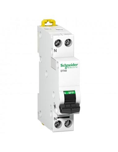 A9N21010 - Prodis DT40 - disjoncteur - 1P+N - 10A - courbe B - Schneider