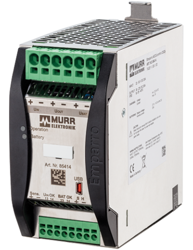 85414 - Module onduleur Emparro ACCUcontrol  In: 24VDC Out: 24VDC/20A - Murr Elektronik