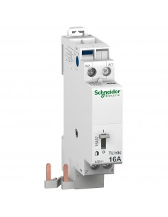 16407 - Duoline Tl'Clic - Telerupteur - 2P - 16A - Bobine 230Vca 50/60Hz - Schneider - DESTOCK