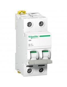 A9S65263 - Acti9, ISW Interrupteur-Sectionneur 2P 63A 415Vac - Schneider - DESTOCK
