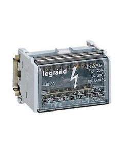004880 - Repartiteur Modulaire Bip.100A 4Mod. - Legrand