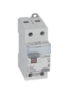 411507 - Dx3 Inter Differentiel 2P 80A Ac 30mA - Legrand