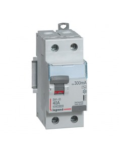 411525 - Dx3 Inter Differentiel 2P 40A Ac 300mA - Legrand
