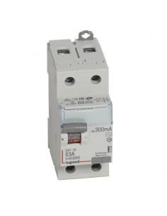 411526 - Dx3 Inter Differentiel 2P 63A Ac 300mA - Legrand