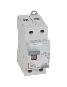 411537 - Dx3 Inter Differentiel 2P 100A Ac-S 100M A - Legrand