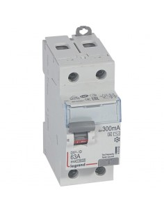 411543 - Dx3 Inter Differentiel 2P 63A Ac-S 300mA - Legrand